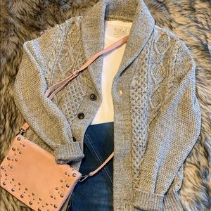 Cable knitted Gap Cardigan